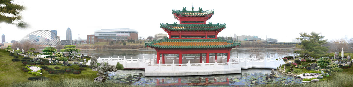 chinese cultural center of america riverfront gardens
